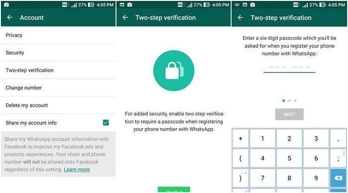 Aplikasi Lock di WhatsApp