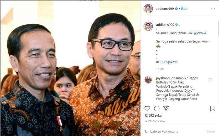 Selebriti Ramai Ramai Sampaikan Ucapan Selamat Di Momen Bahagia Jokowi Komedian Kondang Ini Malah Berikan Unek Uneknya Lewat Video Terbuka Saya Agak Kecewa Juga Sama Bapak Semua Halaman Fotokita