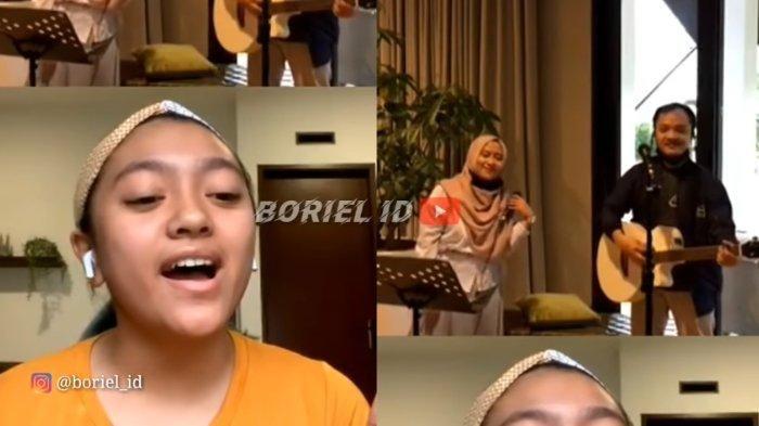 Alleia Anata saat bernyanyi lagu A Whole New World. (YouTube BORIEL ID