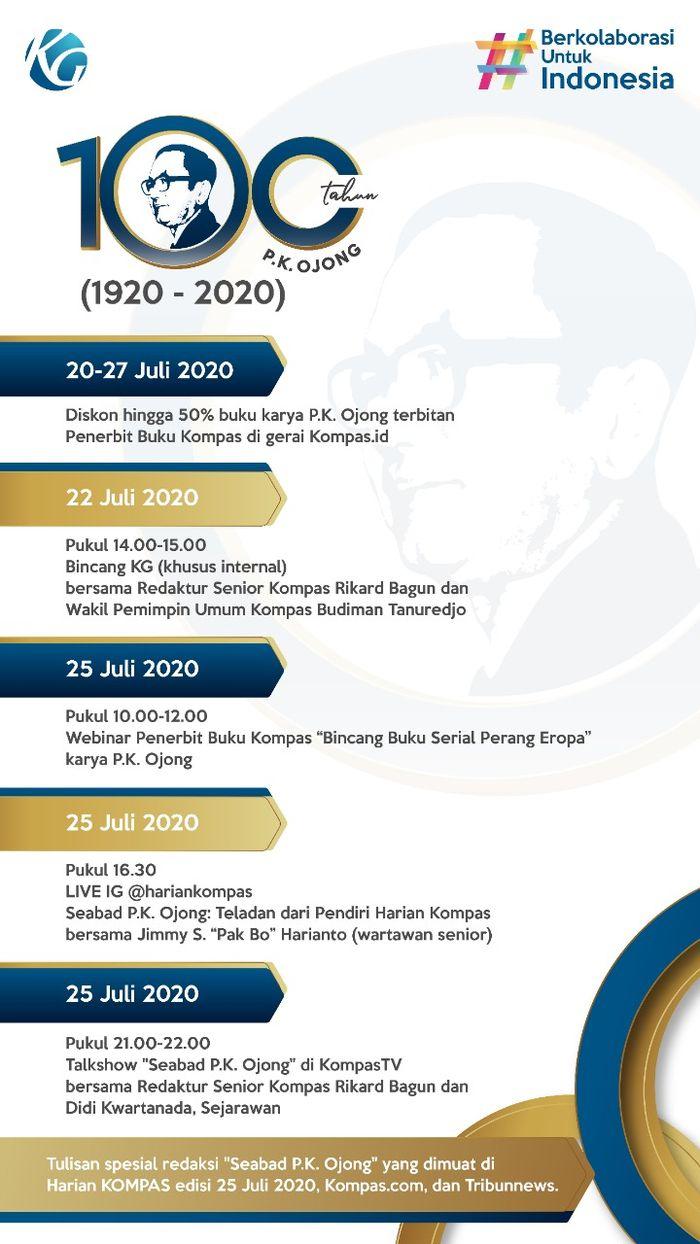 100 Tahun PK Ojong