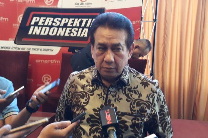 Aktor senior Anwar Fuady di Menteng, Jakarta