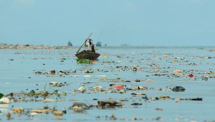 Sampah-sampah dari daratan berakhir di laut dan membahayakan kehidupan yang ada di sana.
