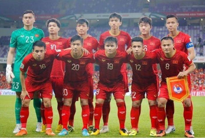 Tim nasional Vietnam.
