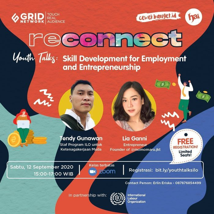 Reconnect Youth Talks: Skill Development for Employment and Entrepreneurship.