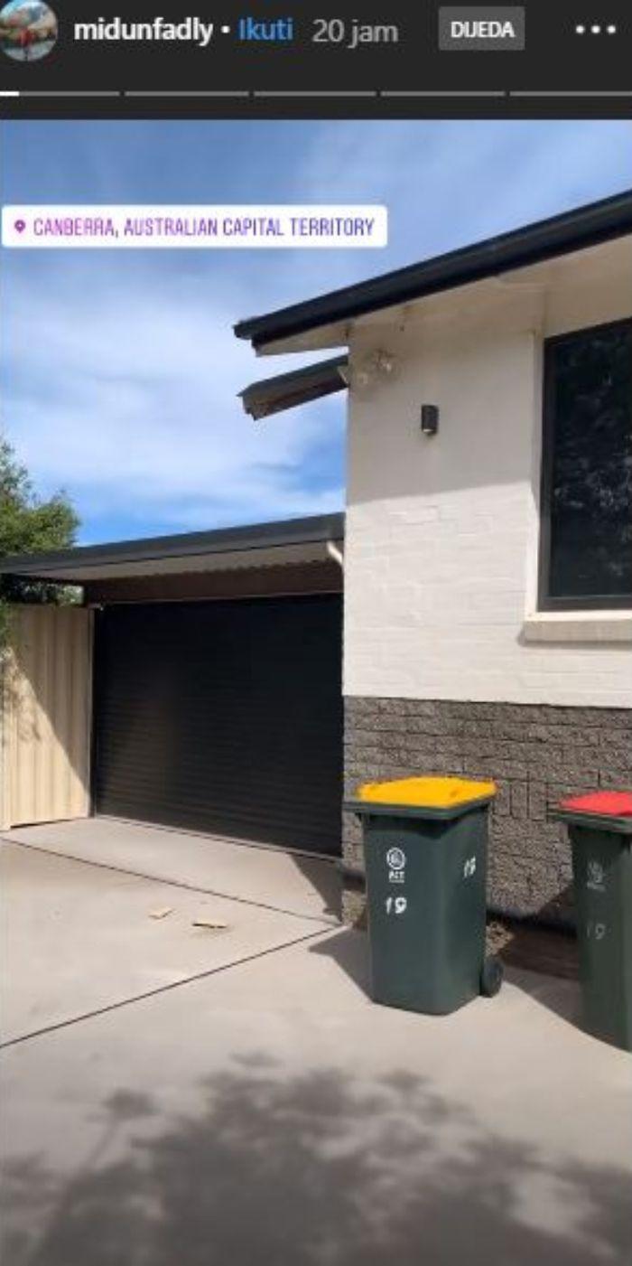 Rumah Nagita Slavina di Canberra