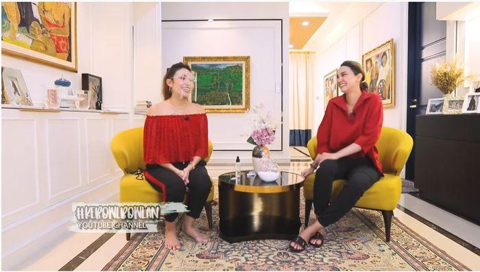 Tangkap layar YouTube Luna Maya__ Ayu Dewi dan Luna Maya