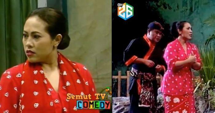 Potret penampilan jaman dulu komedian Nunung