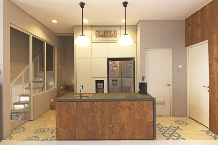 Ilustrasi dapur.