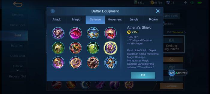 Athena's Shield