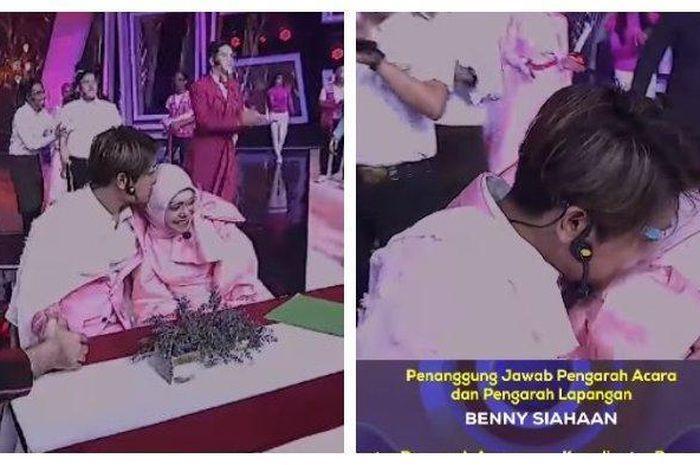 Momen saat adegan mesra Rizky Billar dan Lesty Kejora harus dipotong stasiun TV