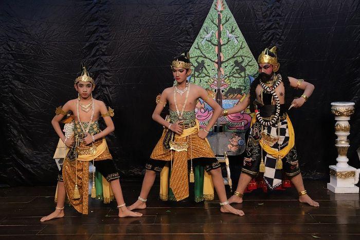 Potret Tunas Bharata, generasi muda penerus wayang orang Bharata