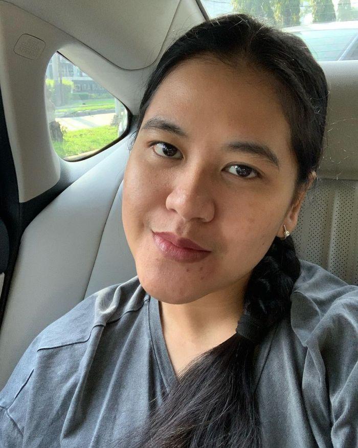 Potret selfie Kahiyang Ayu