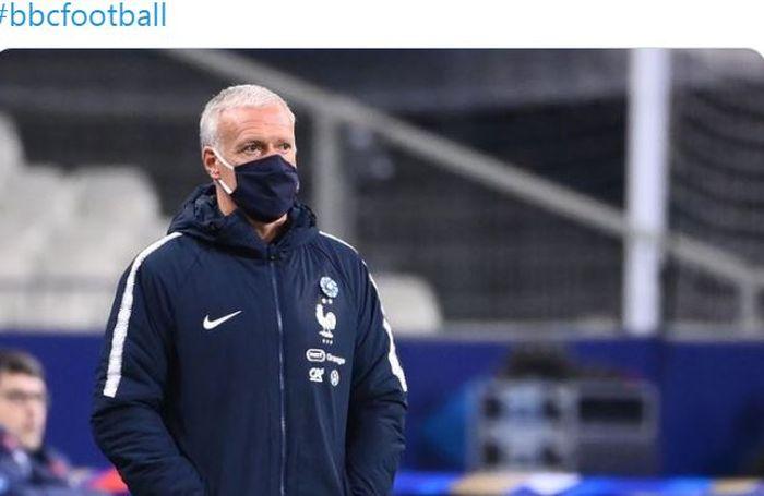 Ungkapan pelatih timnas Prancis Didier Deschamps dalam laga uji coba melawan timnas Finlandia di Stade de France, Rabu (11/11/2020).