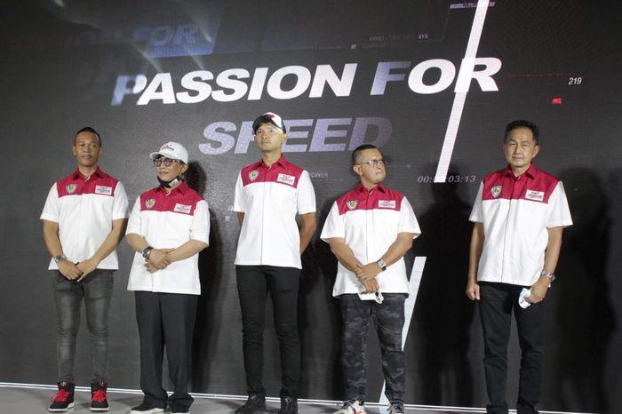 Peluncuran Mandalika Racing Team Indonesia, Dimas Ekky Pratama ditunjuk sebagai pembalapnya