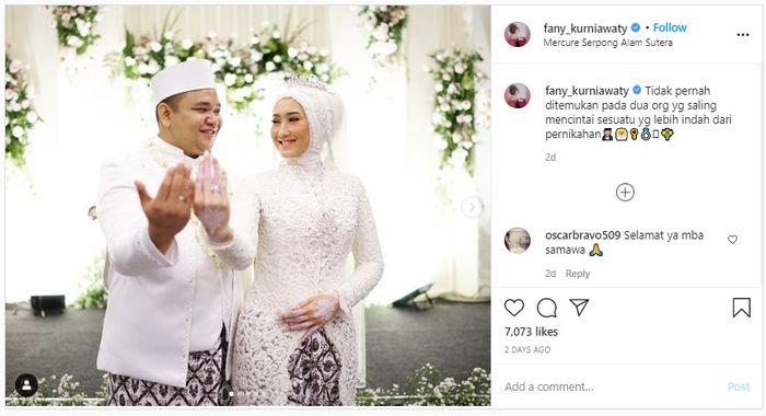 Pernikahan Fany Kurniawaty