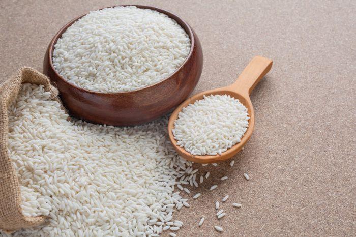 Ilustrasi beras untuk mencerahkan kulit