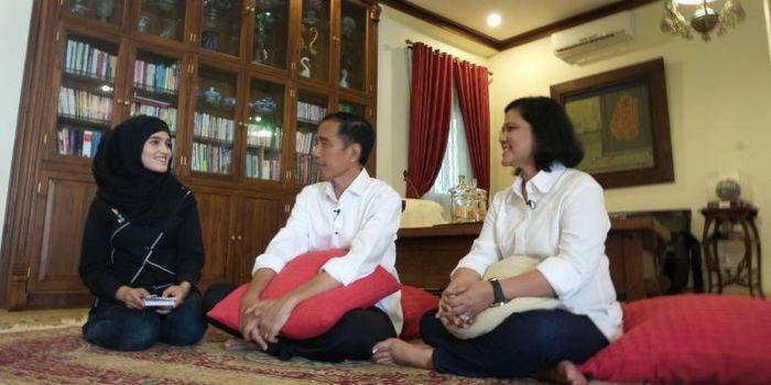 Kediaman Jokowi Iriana