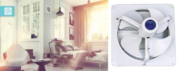 Ilustrasi Ventilating Fan di kamar.