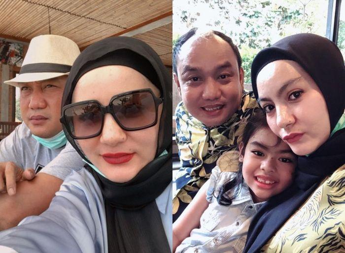 Azis Gagap dan Istri Keduanya, Dewi Keke.