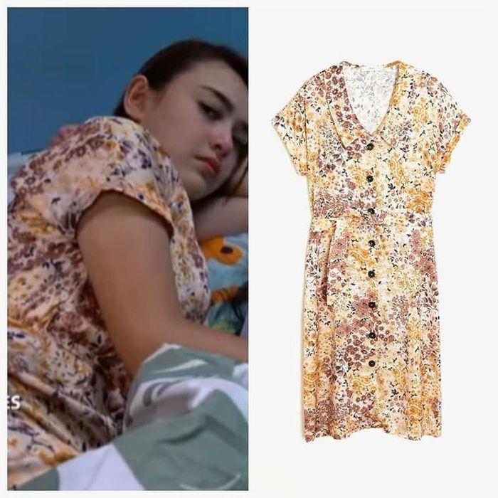 Baju tidur Amanda Manopo sebagai Andin Ikatan Cinta