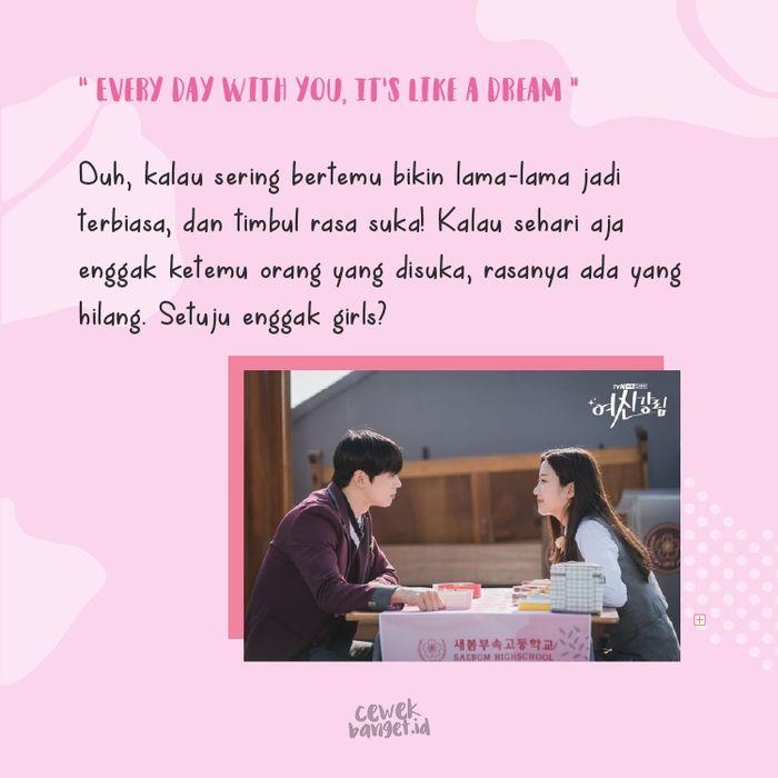Lirik Love So Fine OST True Beauty dari Sudut Su Ho Ini Bikin Baper! 6