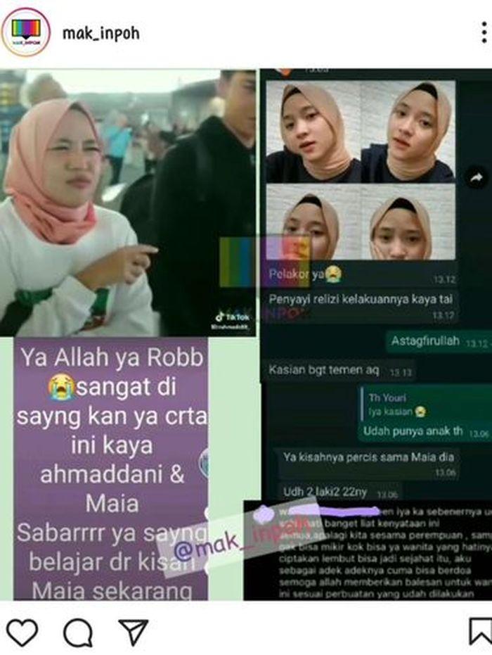 Nissa Sabyan manja sama <a href='https://palembang.tribunnews.com/tag/ayus' title='Ayus'>Ayus</a>