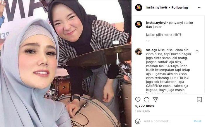 Foto dirinya bersama Mulan Jameela menjadi sorotan publik, Nissa Sabyan langsung banjir nyinyir dari netizen