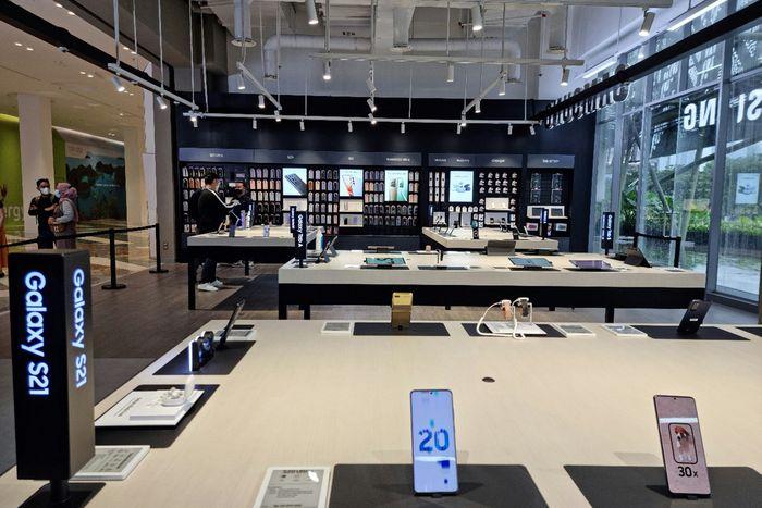 Tienda Samsung Multi-Experience.