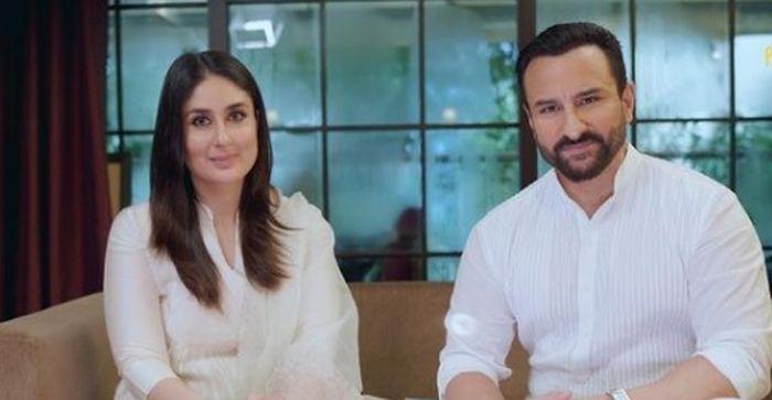 Kareena Kapoor dan Saif Ali Khan menempati rumah baru