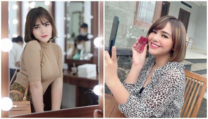 Andin Ikatan Cinta endorse lipstik, kecantikan Amanda Manopo jadi sorotan netizen.