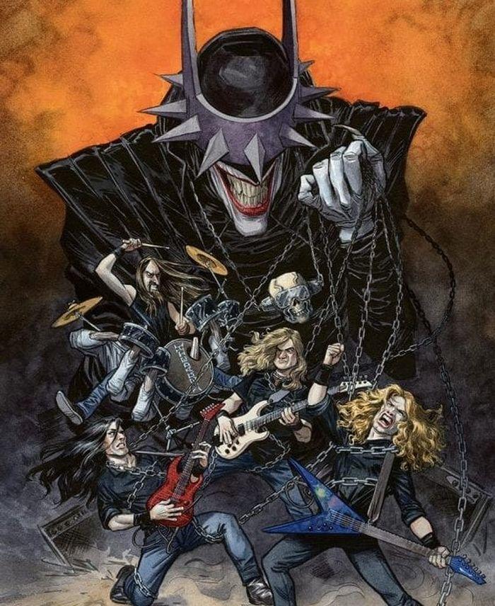 Megadeth D 'Dark Knights: Death Metal - Band Edition' Número 1