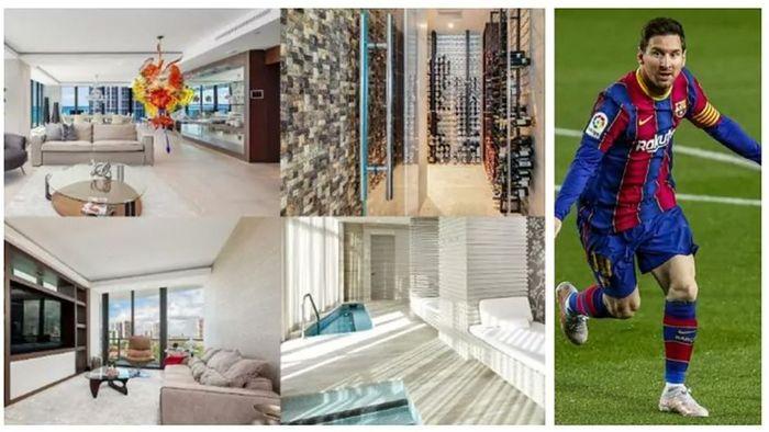 Megabintang Barcelona, Lionel Messi, membeli sebuah apartemen mewah di Miami baru-baru ini.