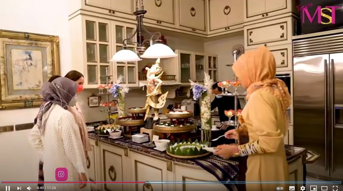 Dapur rumah Mayangsari