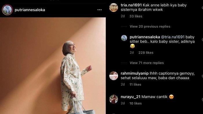 Istri Arya Saloka, Putri Anne, tanggapi nyinyiran netizen