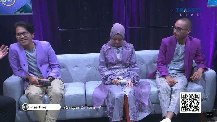 Penampilan Sabyan Gambus saat perdana muncul di televisi usai isu perselingkuhan
