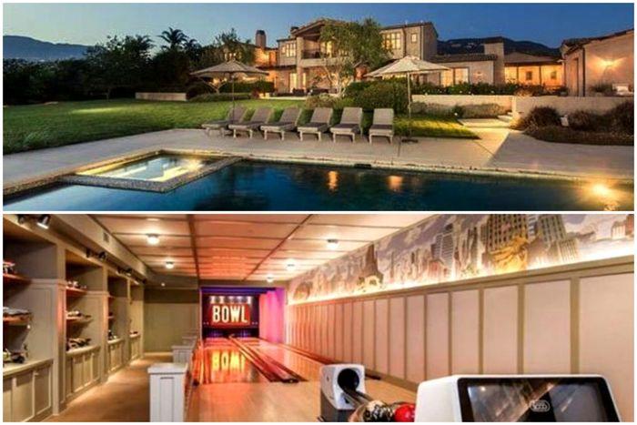 Rumah Artis Hollywood sekaligus  penyanyi Lady Gaga.
