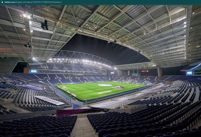 Kandang FC Porto, Estadio Do Dragao bakal menjadi venue final Liga Champions 2020-2021.