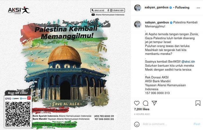 Setelah disebut main serong, <a href='https://pekanbaru.tribunnews.com/tag/nissa-sabyan' title='NissaSabyan'>NissaSabyan</a> dan <a href='https://pekanbaru.tribunnews.com/tag/ayus-sabyan' title='AyusSabyan'>AyusSabyan</a> tampak galang dana untuk bantu Palestina hingga banjir komentar.