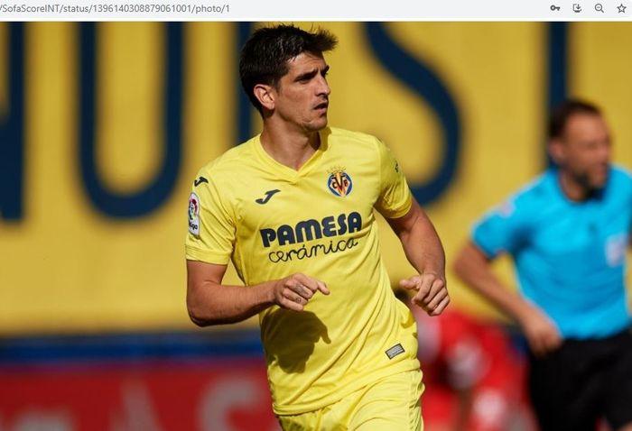 Penyerang Villarreal, Gerard Moreno.