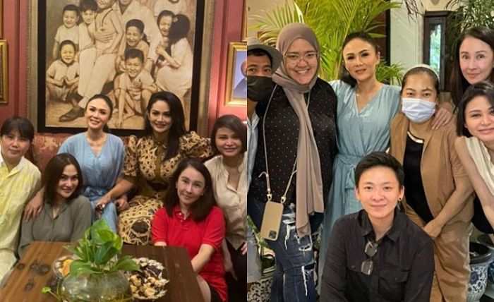 Momen Yuni Shara habiskan waktu ulang tahunnya bareng keluarga besar.