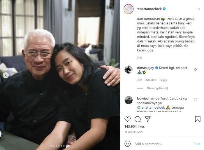Renatta Moeloek Berbagi Cerita Soal Peran Sang Kakek dalam Karirnya Sebagai Seorang Chef
