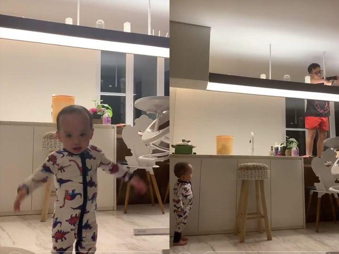 Rumah Baru Rachel Vennya (dapur)