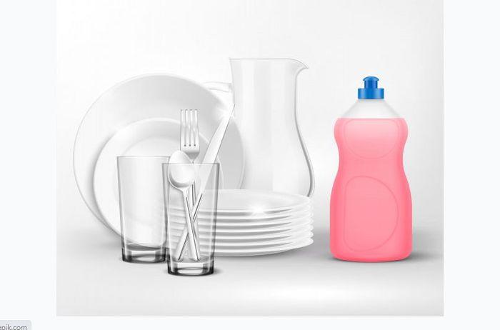 Beneficios del jabón para lavar platos para limpiar varios artículos