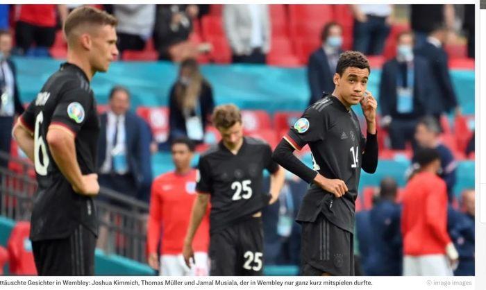 Timnas Jerman tersingkir dari EURO 2020 setelah ditaklukkan 0-2 oleh timnas Inggris pada babak 16 besar.