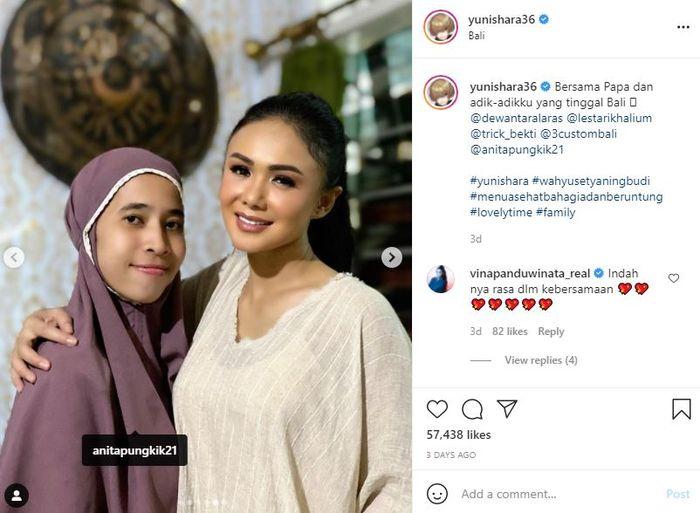Yuni Shara and Krisdayanti's next sister figure lanjutan