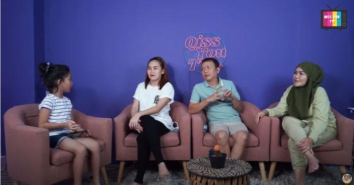Perbincangan Bilqis dengan Ayu Ting Ting, Ayah Rozak, dan Umi Kalsum