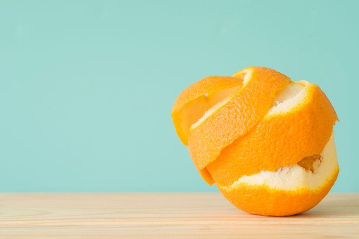ilustrasi kulit jeruk