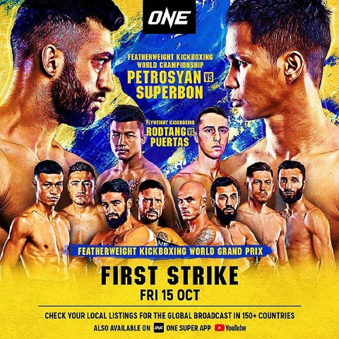 Poster ONE Championship: First Strike.