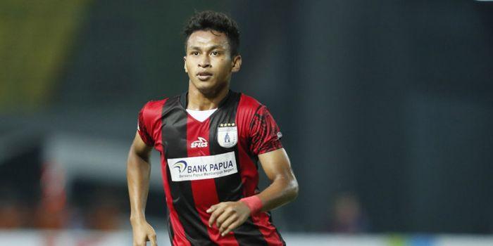 Osvaldo Haay, pemain muda Persipura Jayapura