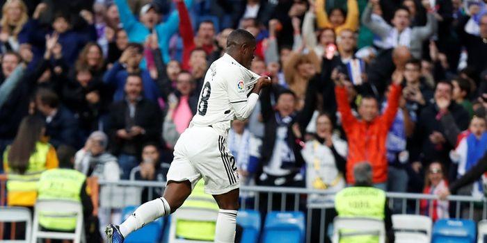 Pemain sayap Real Madrid, Vinicius Junior.